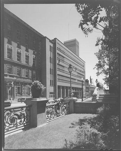 MSC Lawn Facing YMCA-Sir George William