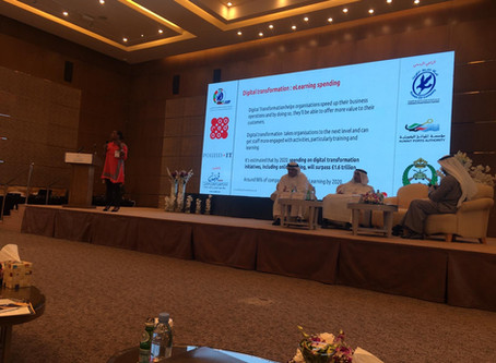 Red Dot Founder Gives Keynote in Kuwait on digital transformation in eLearning