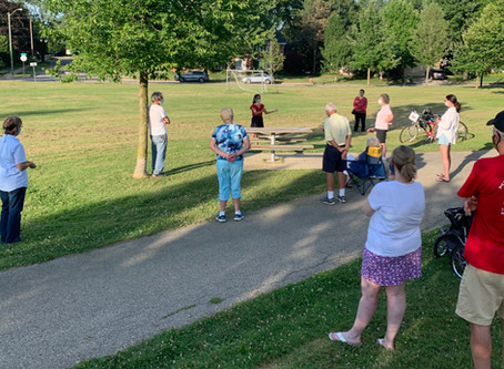 Neighborhood Park Meet & Greets with Ward 4 City Council Candidate Jen Eyer