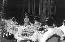 Children at tea