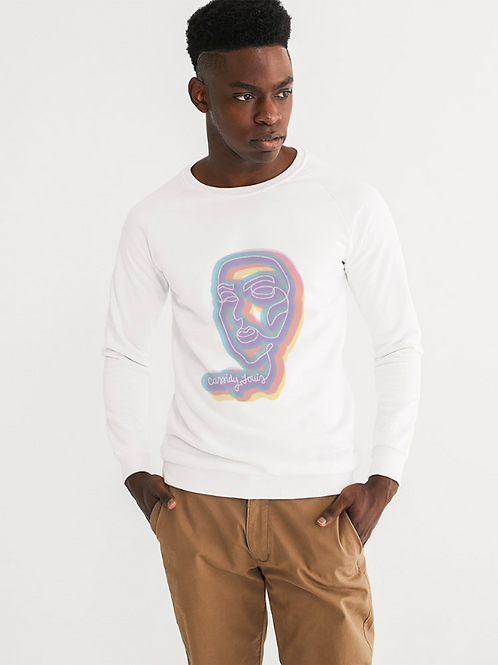Technicolor Rose Sweatshirt