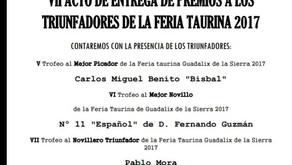 Triunfadores Feria Guadalix de la Sierra 2017