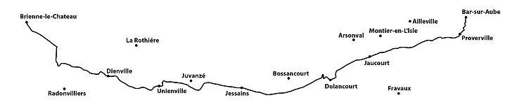 DAY 19 Brienne-le-chateau to Bar-sur-Aub