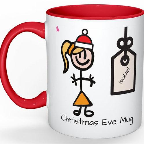 Fabulous Christmas Eve Childrens Mug