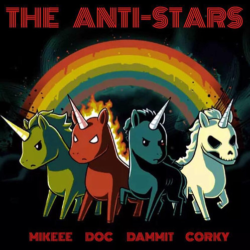 The Anti-Stars Unicorn Apocalypse Sticker