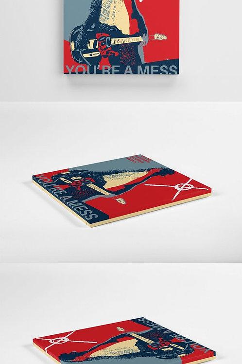 Mess - Exclusive Canvas 30cm x 30cm