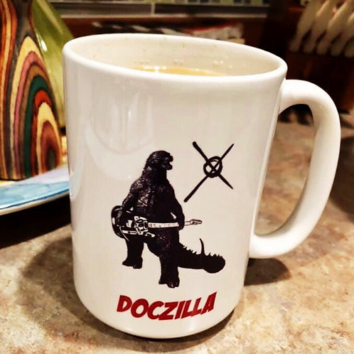 Large DocZilla Mug - 15oz