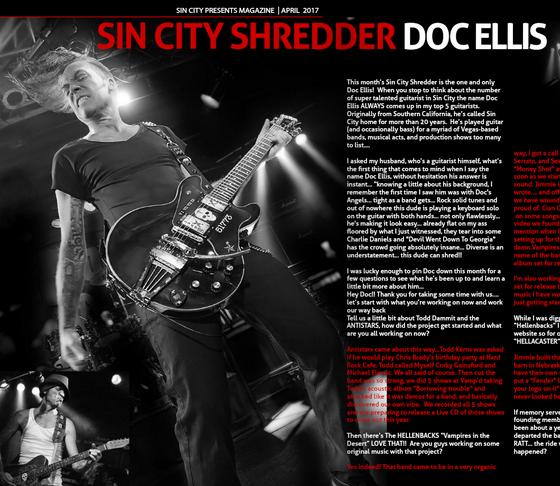 Sin City Shredder - Exclusive