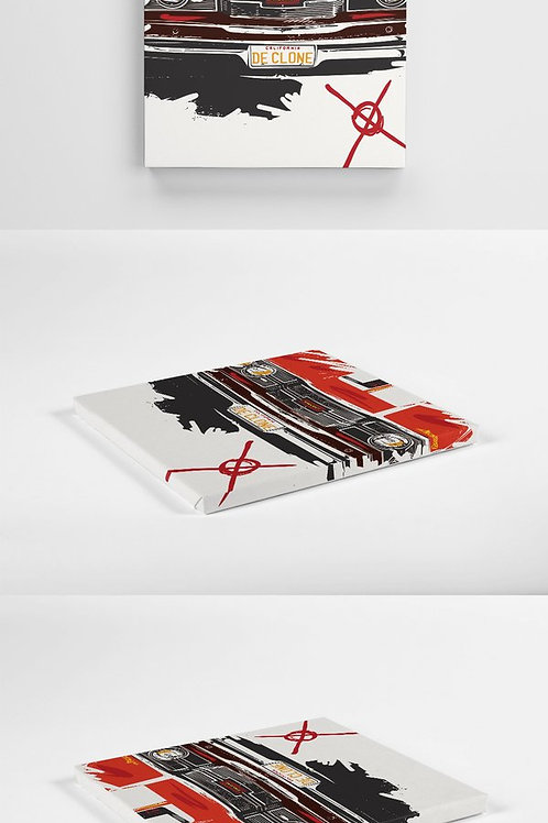 De Clone - Exclusive Canvas 30cm x 30cm