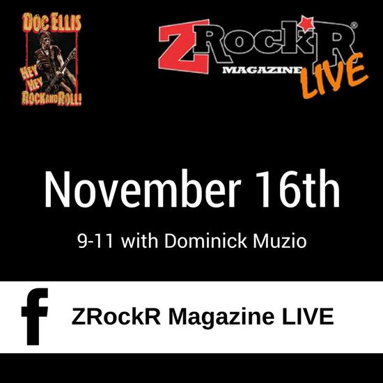 Live on ZRockR...