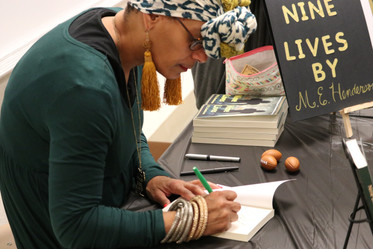 1st Book Signing