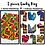 """Thumbnail: ANKARA Extra Long 72""""×22""""  Dashiki African Print Head Wraps/Scarfs for Women"""