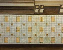 Новая плитка в Московском метро