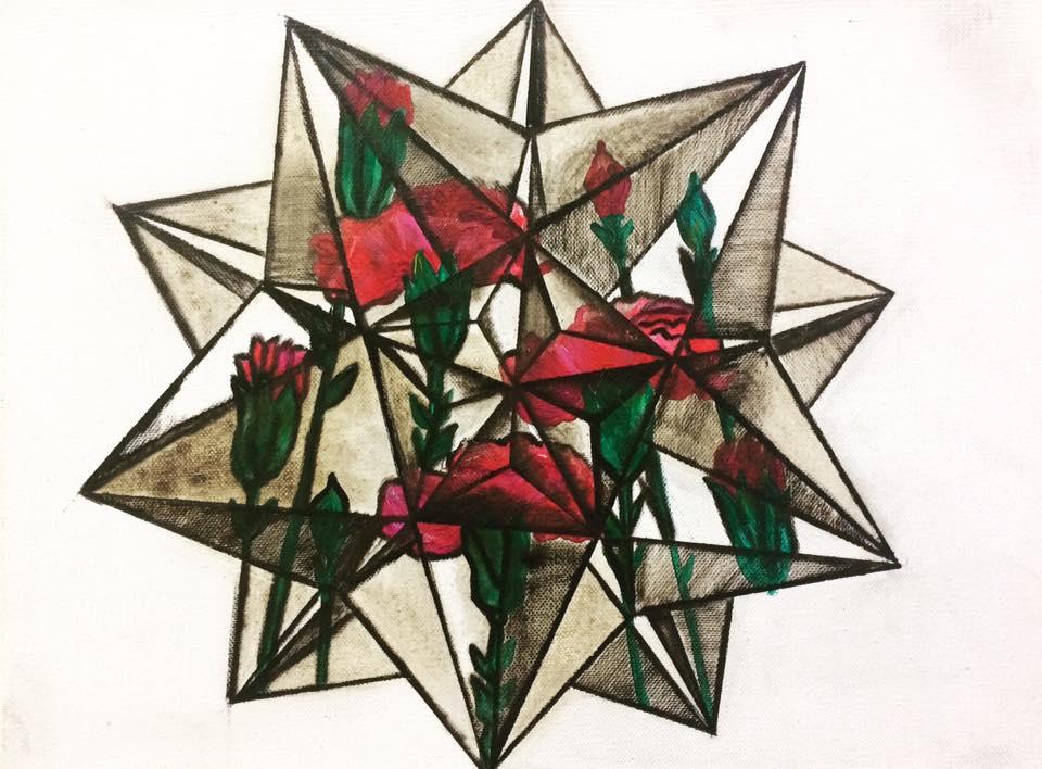 Не букет из пышных роз