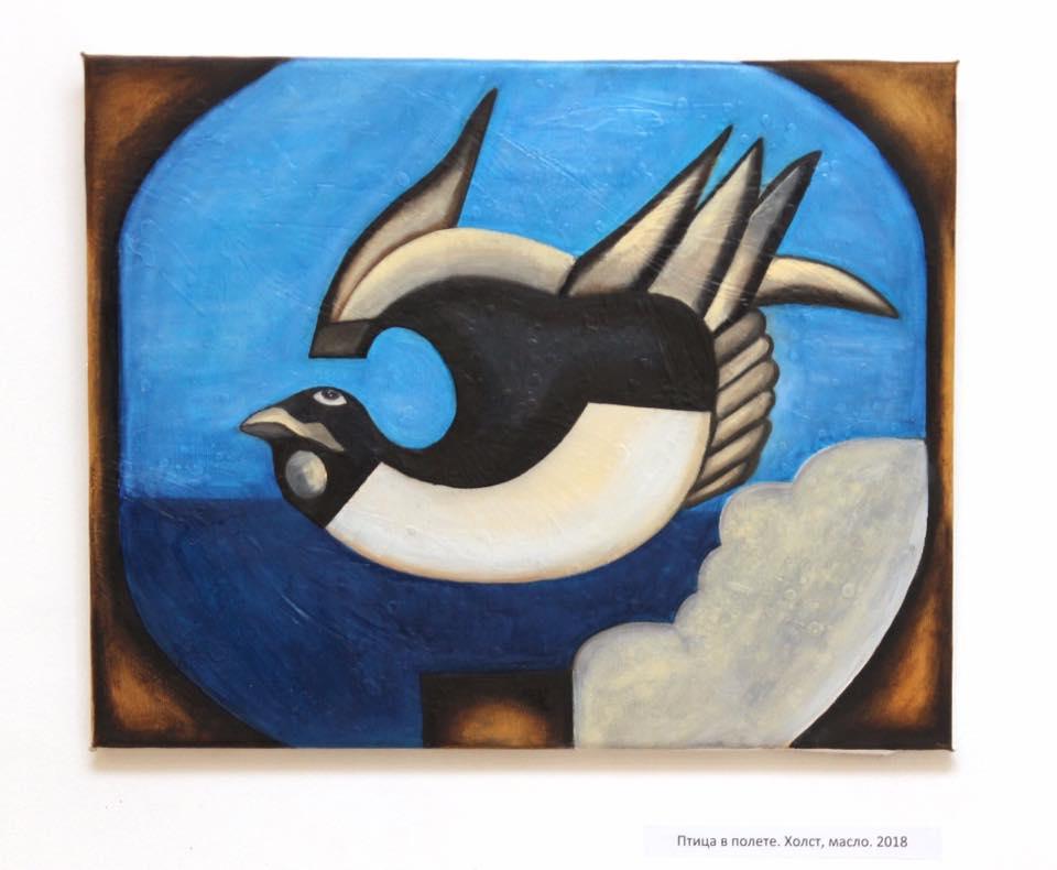 Птица в полете