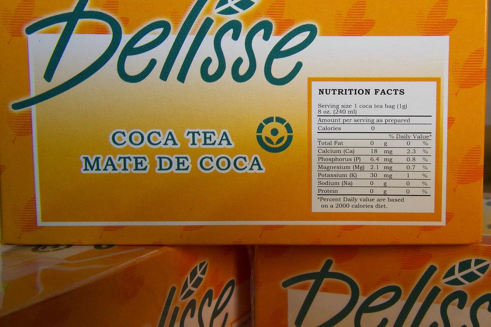 Coca Leaf Tea -Mate de Coca