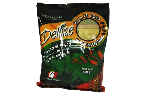 100grams Coca Leaf Powder Delisse