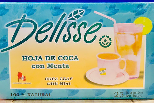 Coca Leaf w/ Mint Tea
