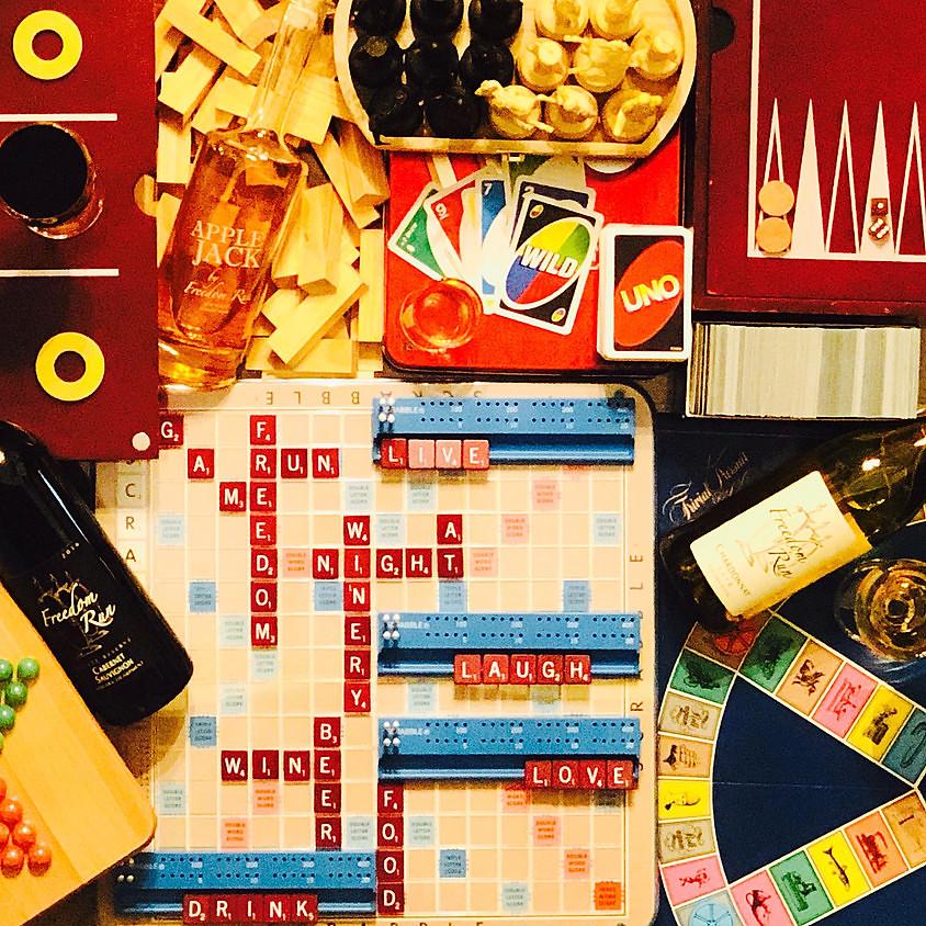 Game Night @ Freedom Run Winery