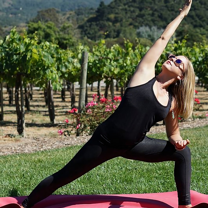 Sunday Yoga with Anne McQuire @ Freedom Run Winery