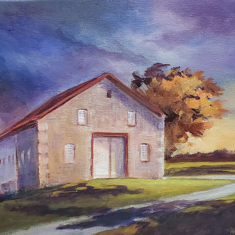 Painting in the Vineyards with Martha @ Freedom Run Winery