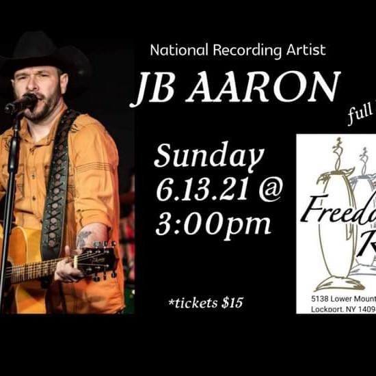 Freedom Run Winery Music Series: JB Aaron