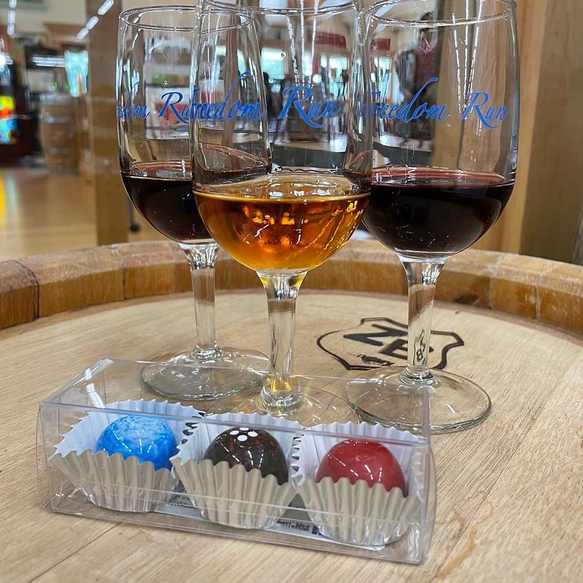 Artisanal Chocolate & Wine Pairing @ Freedom Run Winery