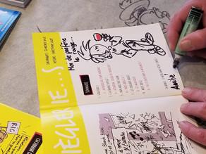 Christophe Lazé en signature