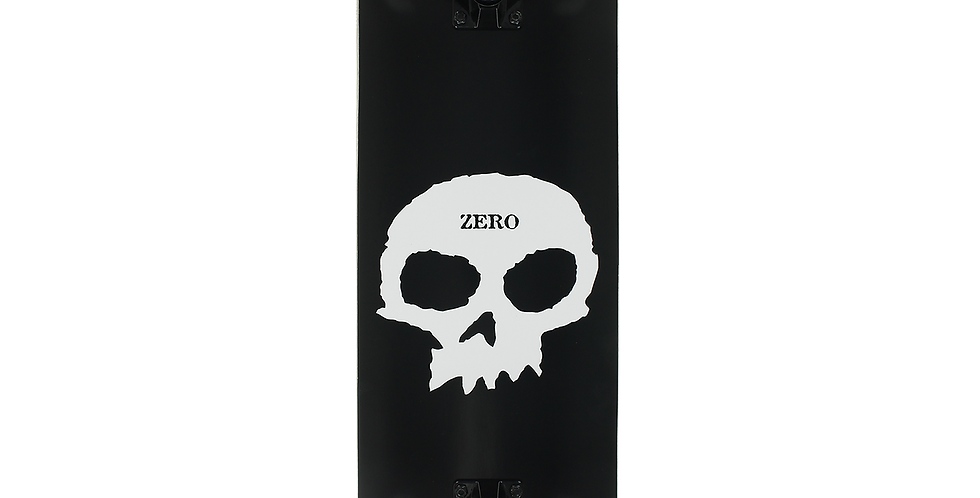 ZERO SINGLE SKULL COMPLETE-8.0 BLK/WHT