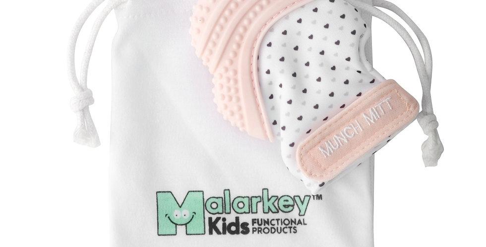 Malarkey: Munch Mitt - Pastel Pink Hearts