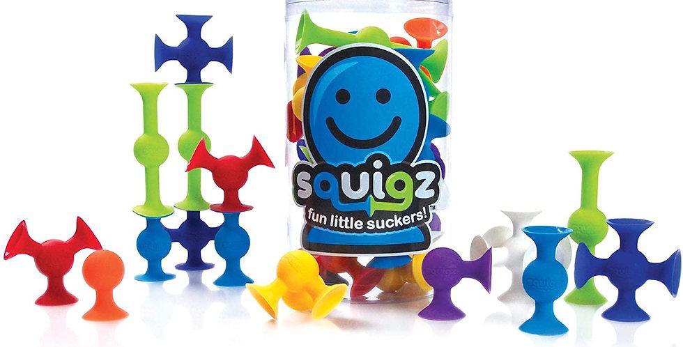 Fat Brain Toy Co: Squigz Starter Kit - 24-piece