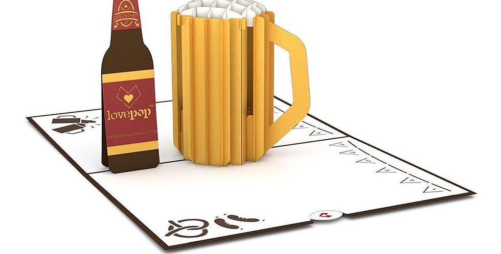 Beer 3D card