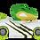Thumbnail: SD Toyz: Pull-Back Knuckle Headz - Rex