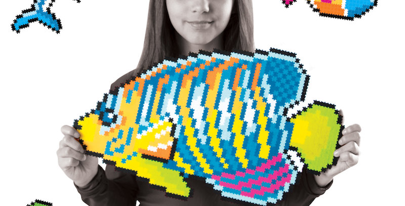 Fat Brain Toy Co: Jixelz 1500 pc Set - Under the Sea