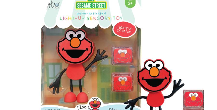 Glo Pals Character - Elmo - Sesame Street Glo Pal