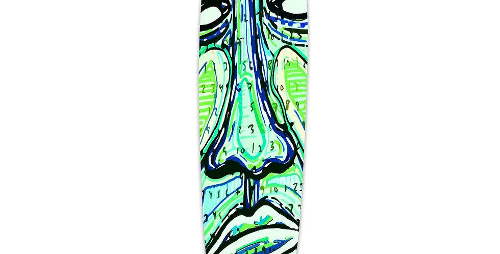 Yocaher Skateboards: Slimkick Longboard Complete - Countdown