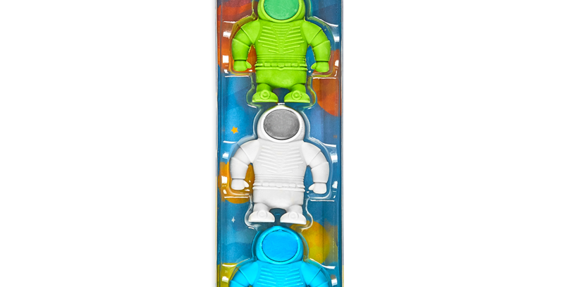 ooly - Astronaut Erasers (3 Pack)