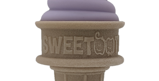 SweeTooth - The Sweetest Baby Teether Ever! - Lovely Lilac
