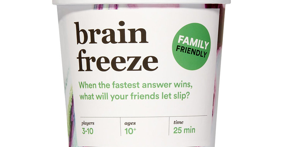 Player Ten: Brain Freeze - Family Edition