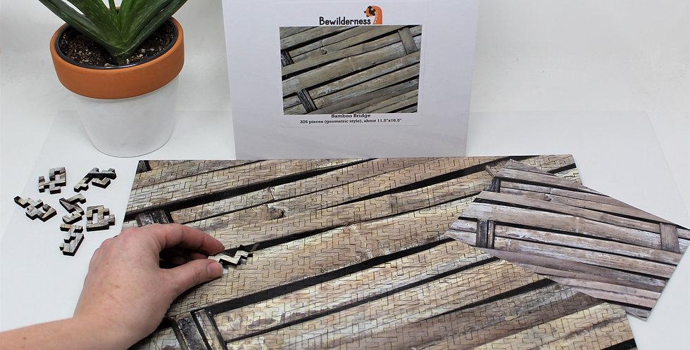 Bewilderness: Bamboo Bridge Jigsaw Puzzle - 326 Pieces