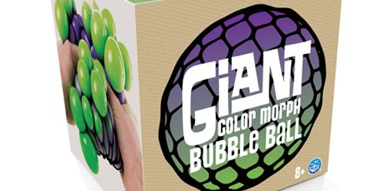 Play Visions:  Giant Color Morph Bubble Ball