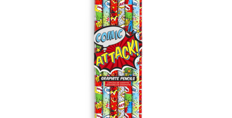 ooly - Comic Attack Graphite Pencils (Set of 12)