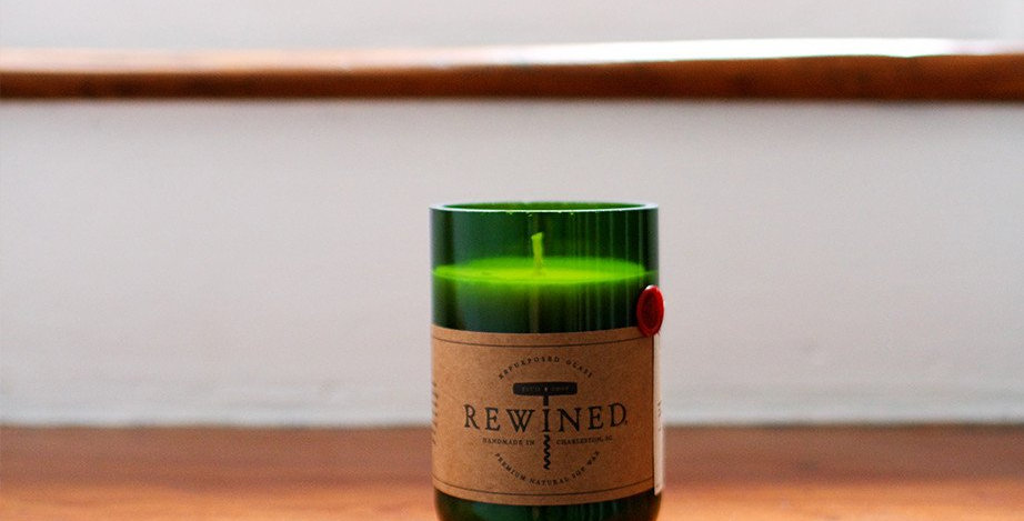 Rewined: Cabernet Candle