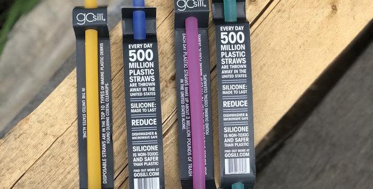 GoSili - Silicone Single Straws