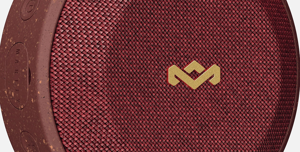 House of Marley: NO BOUNDS Portable Bluetooth Speaker - Red