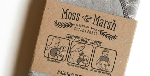 Moss & Marsh - Burp Cloth Set
