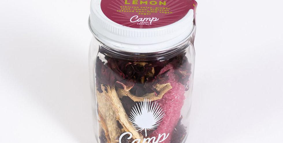 Camp Craft Cocktails: Hibiscus Ginger Lemon