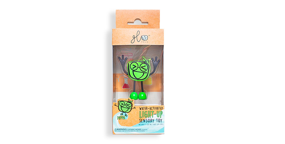 Glo Pals: Pippa - Green Glo Pal