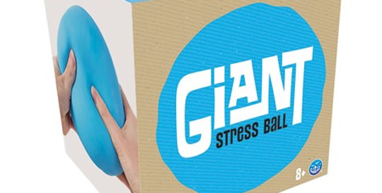 Play Visions: Giant Stress Ball - Blue