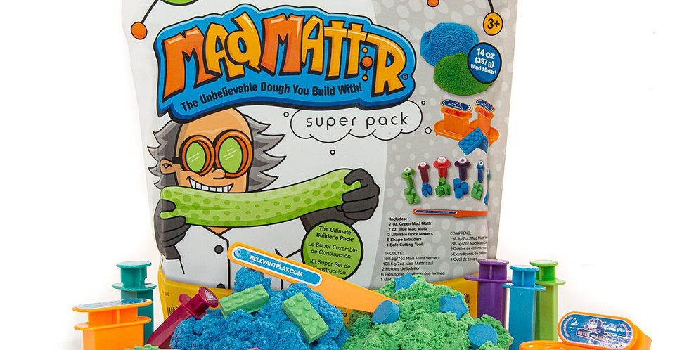 Mad Mattr Super Pack - The Ultimate Builder's Pack